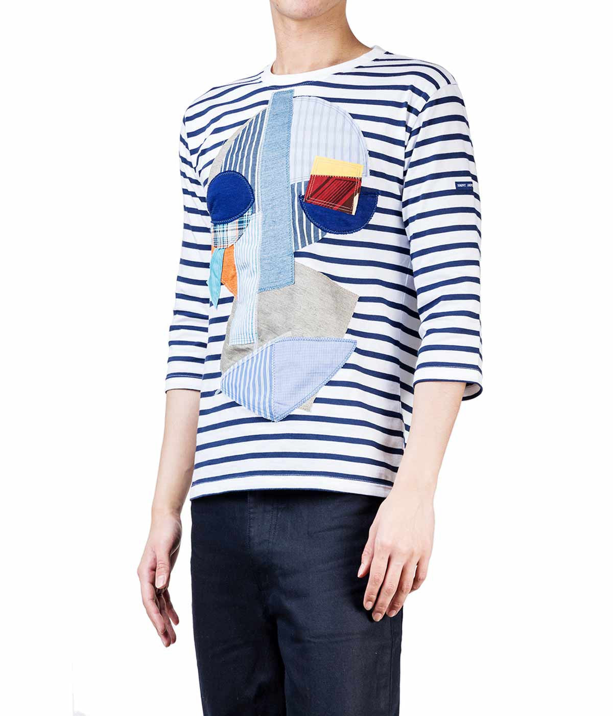 Saint James Patchwork T-shirt