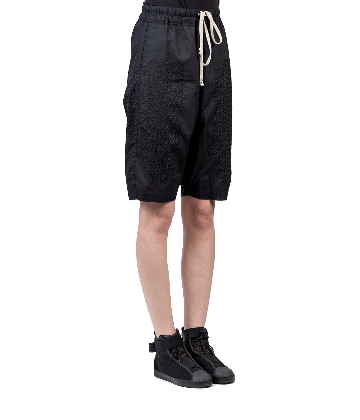 Embroidered Pod Shorts