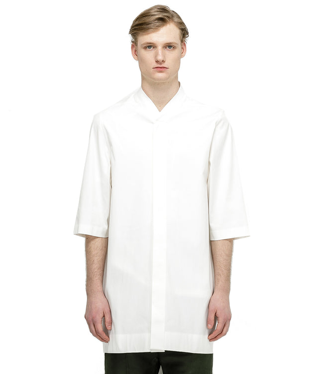 White Short Sleeve Faun Shirt