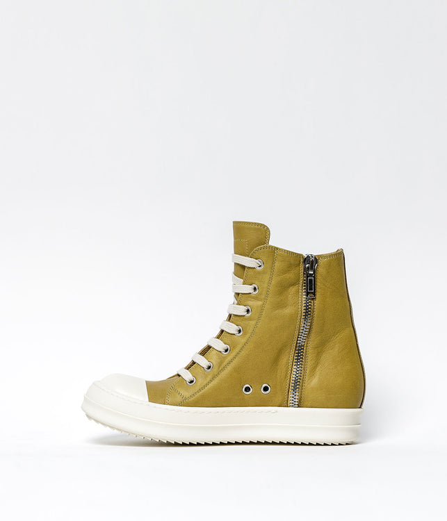 Yellow High Top Sneakers