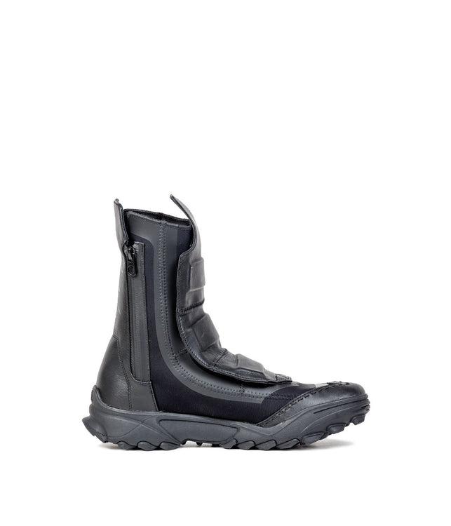 Black Snow Patrol Zip Boots
