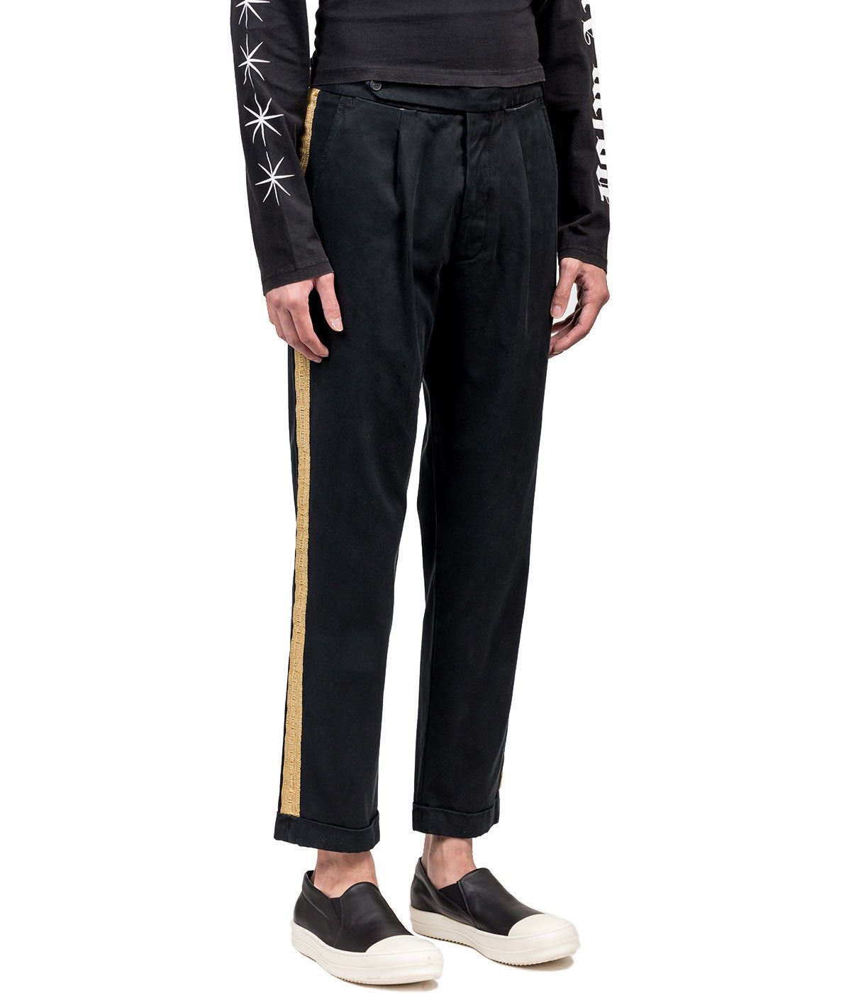 Black Gold Classic Trousers