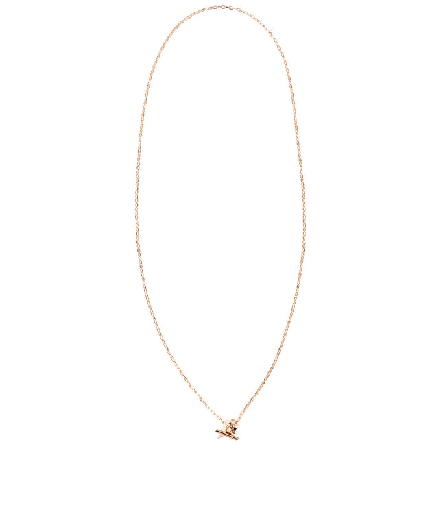 Rose Gold Delicate Titan Necklace