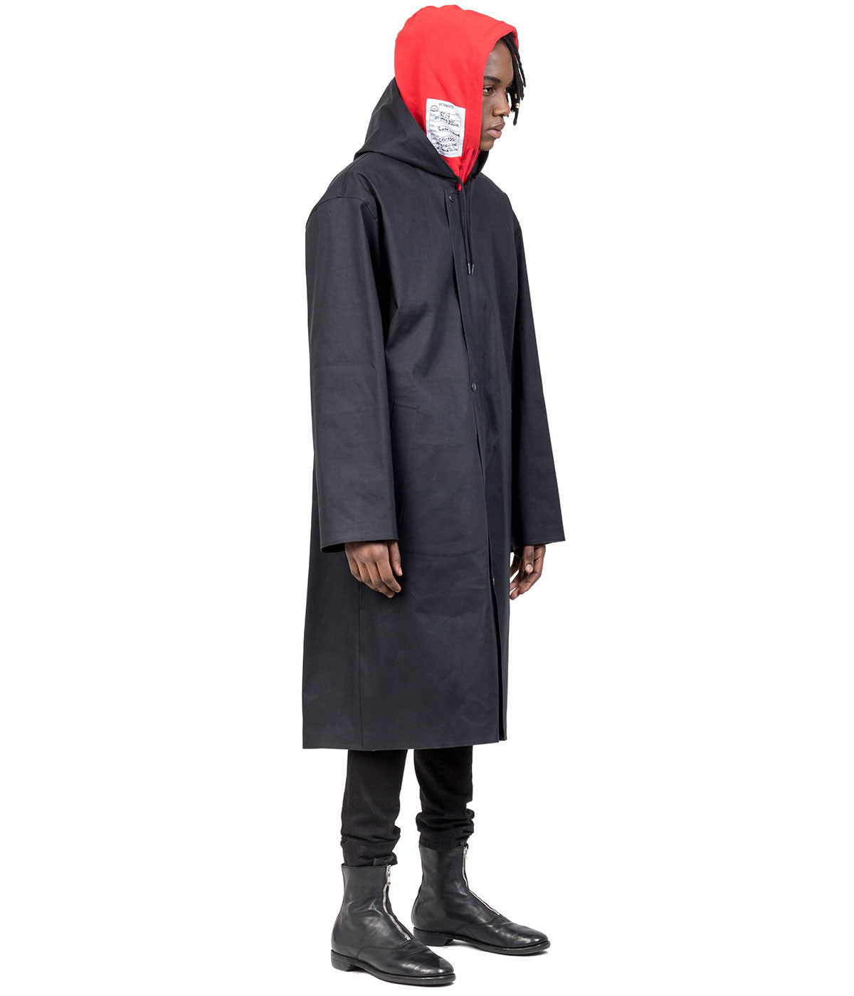 Mackintosh Black Hood Raincoat