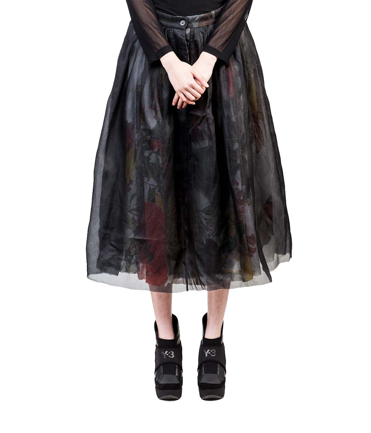 Black Triple Layered Skirt