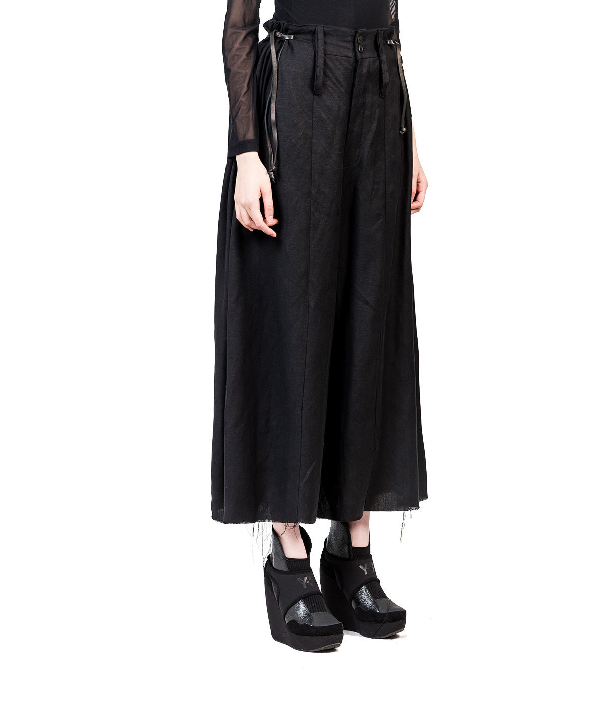 Flare Oversize Cross Pants