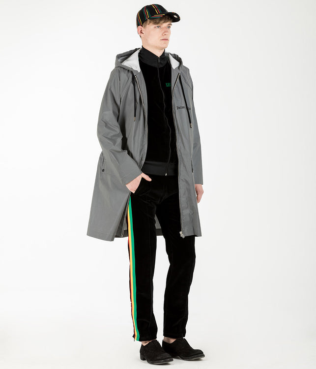 Silver Coated Raincoat