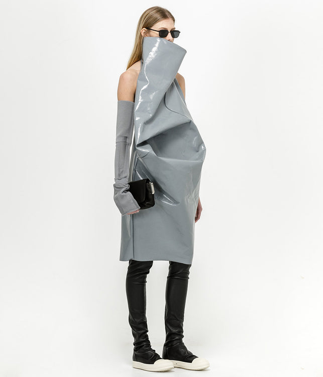 Stone Grey Elipse Tunic Dress