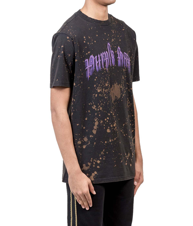 Black 'Purple Haze' T-Shirt