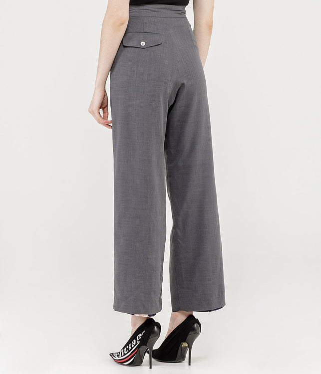 Grey Reversible Trousers
