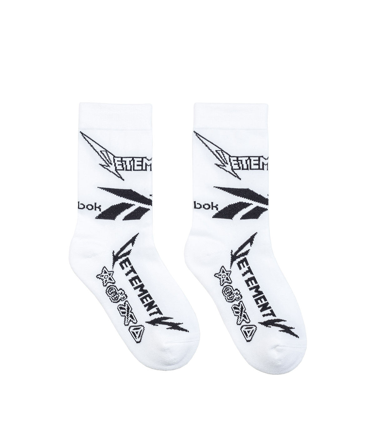 Reebok White Anklet Socks