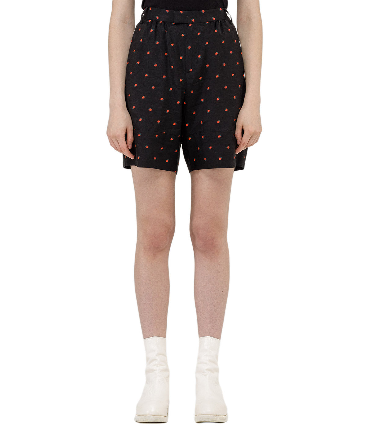 Fruit Print Sport Shorts