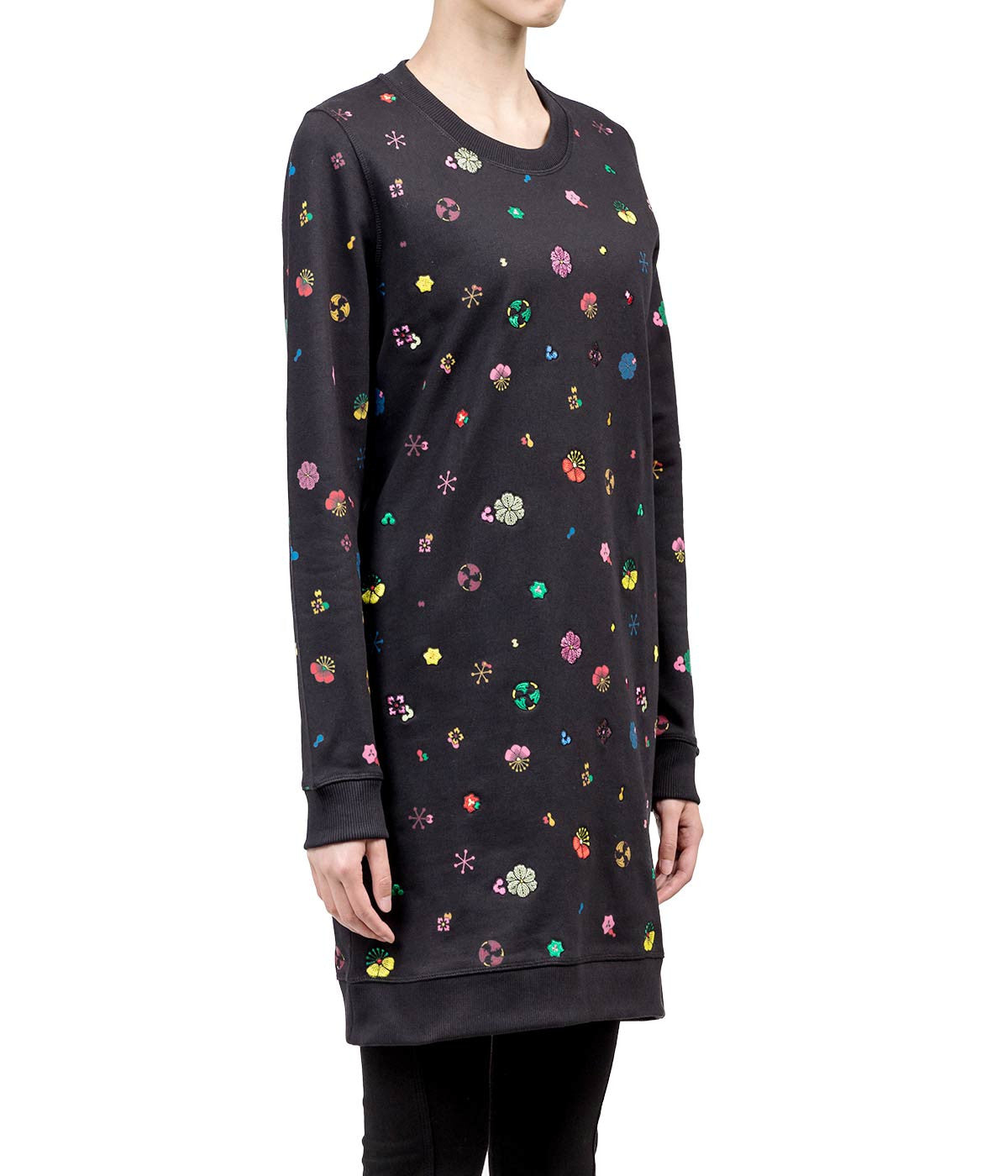 Black Tanami Flower Dress