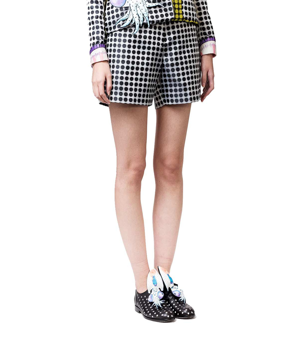 Woven Polyester Printed Shorts