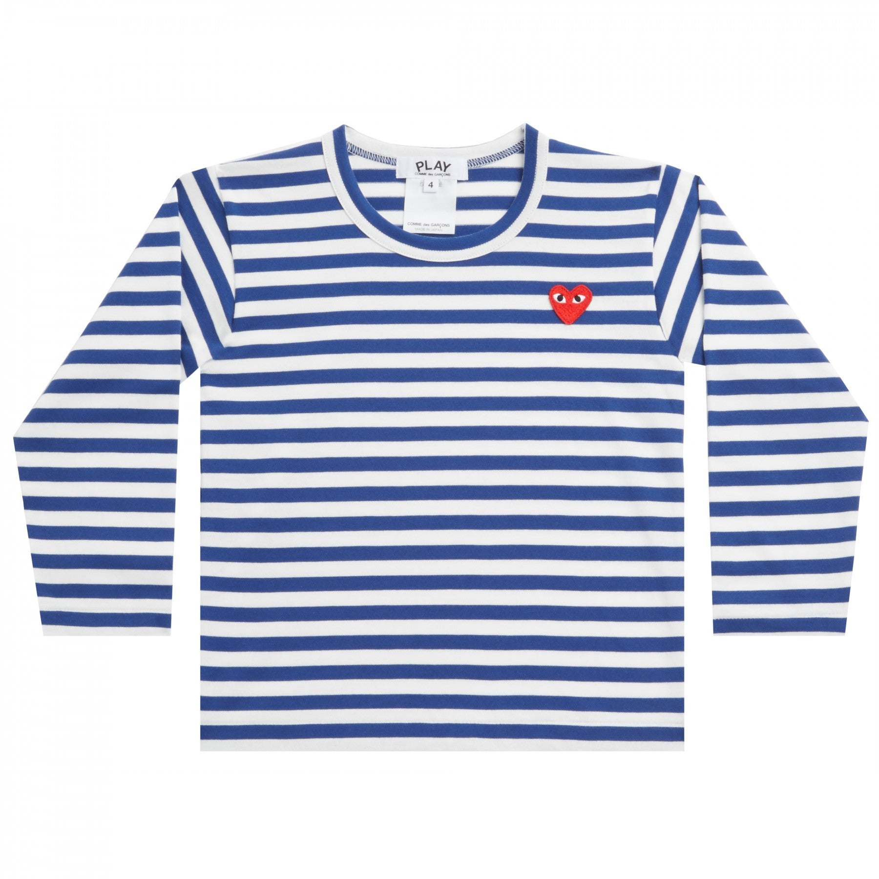 Kids Blue & White Striped T-shirt