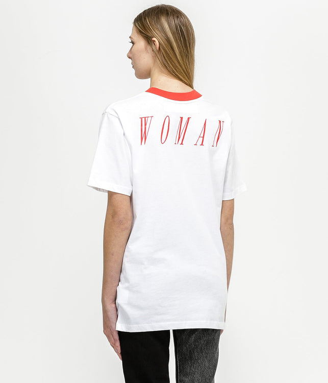 White Oversized OFFF T-Shirt