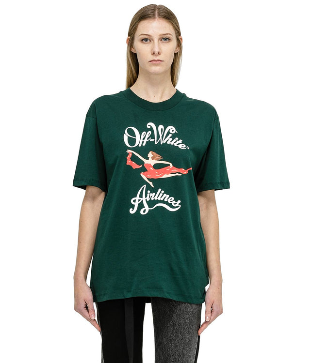 Green Airline T-Shirt
