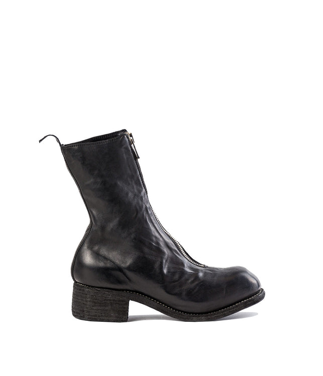 Black Orthopaedic Zip-Up Boots