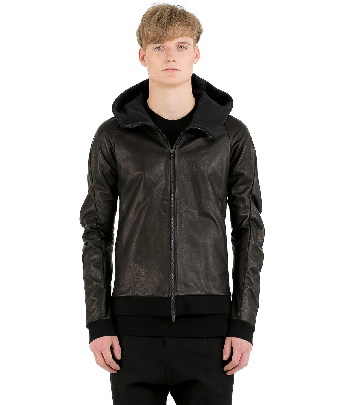Black Deer Leather Jacket
