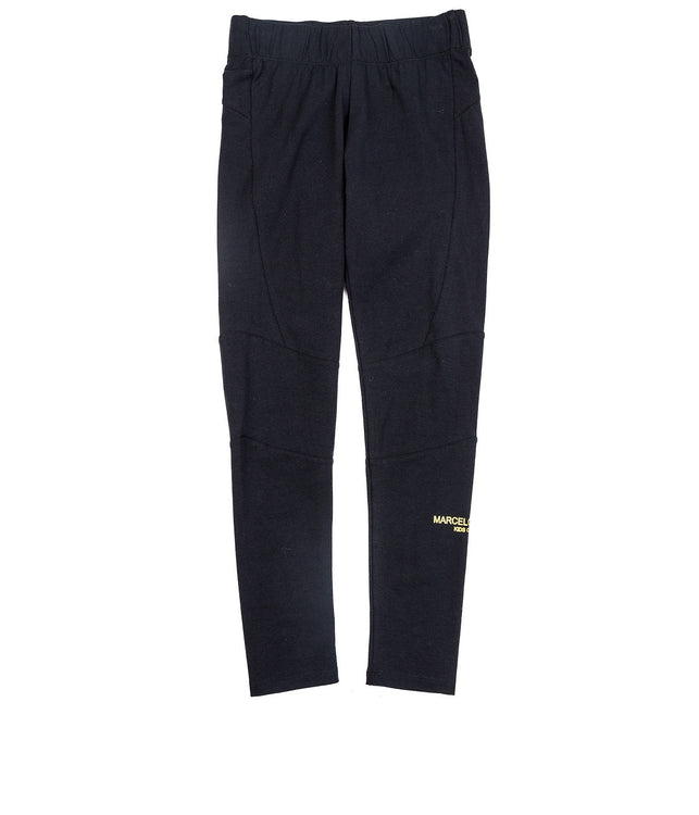 Kids Black Stretchable Trousers