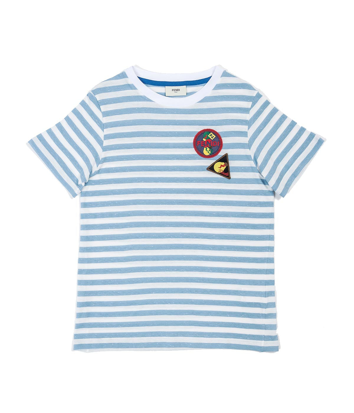 Kids Slub Knit Striped T-Shirt