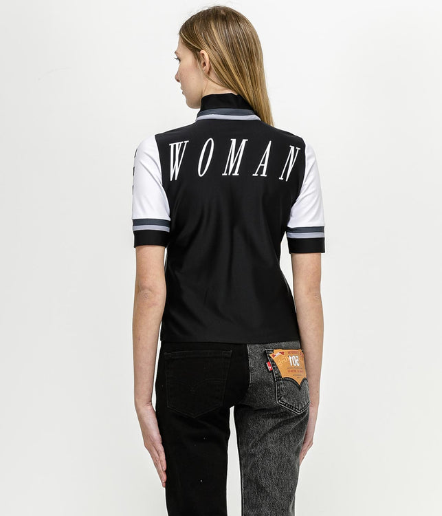 Black Cycling Top