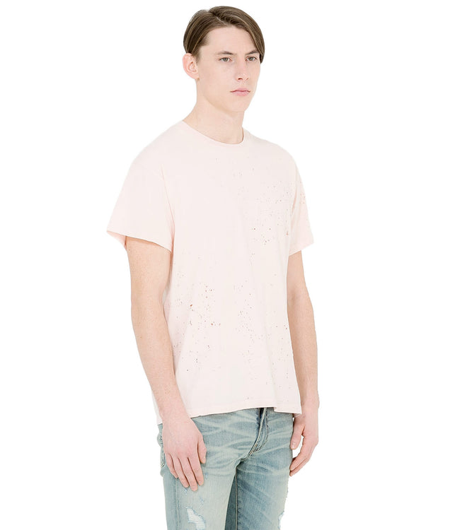 Pink Shotgun Distressed T-Shirt
