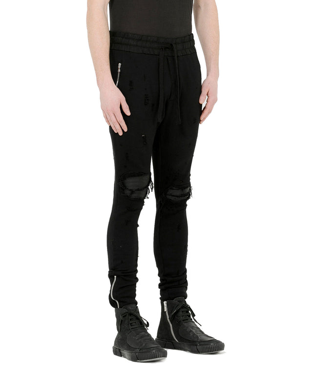 Black MX1 Sweatpants