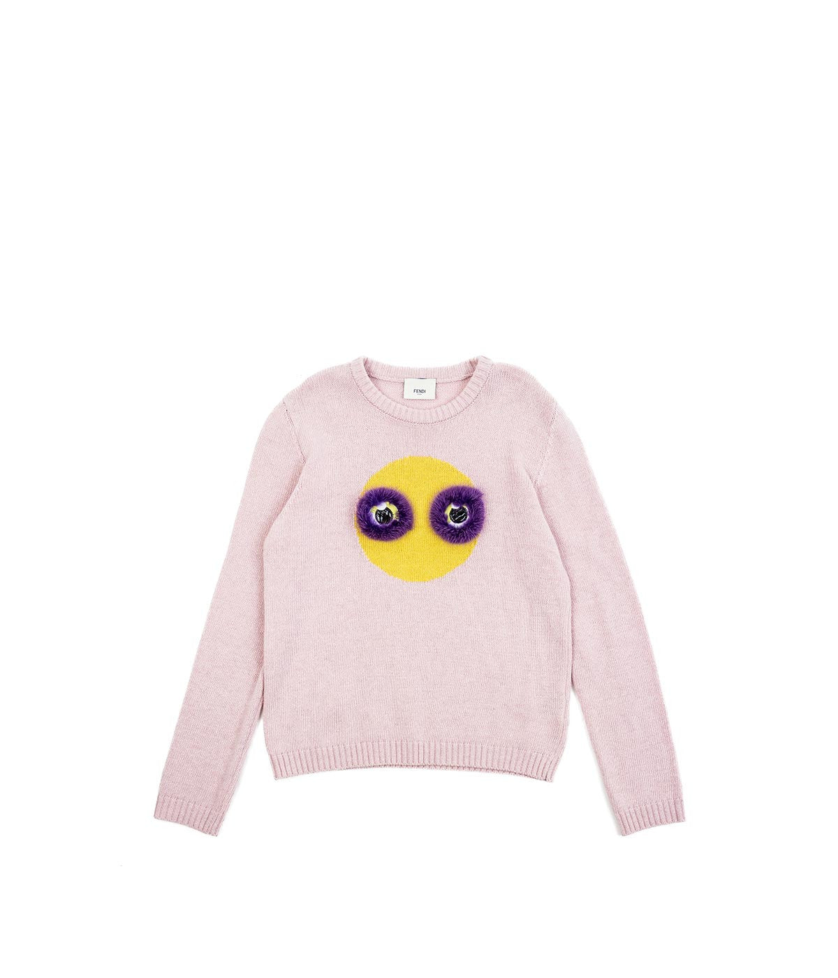 Kids Pink Knit Sweater