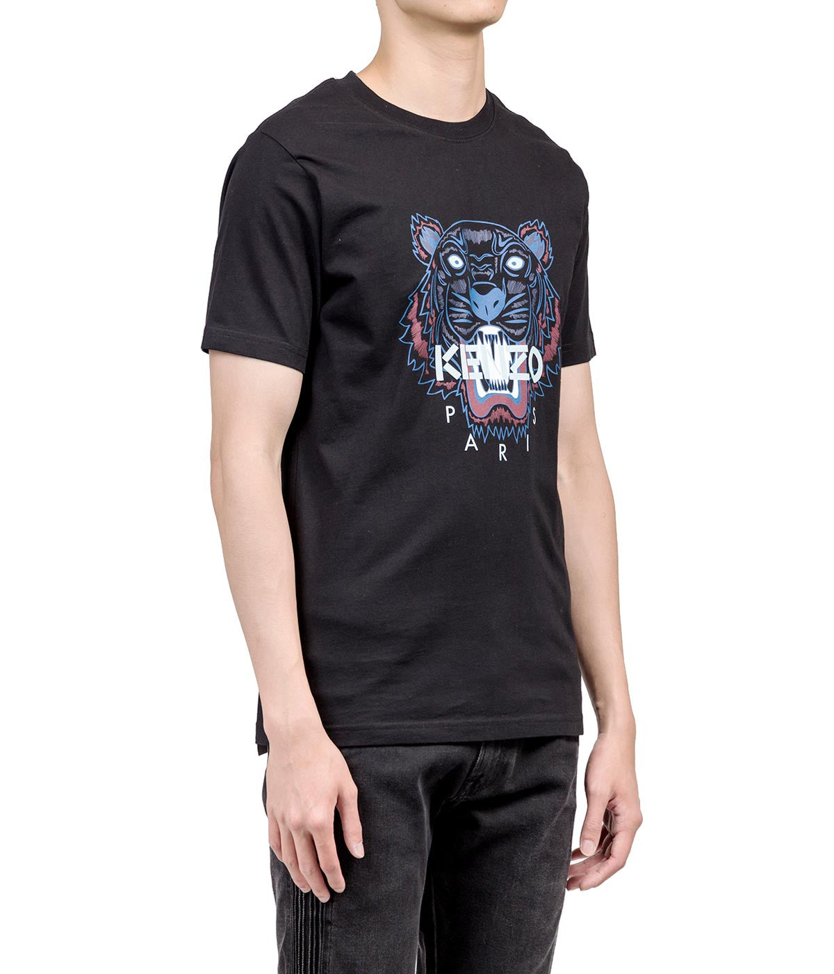 Black Tiger Logo T-shirt