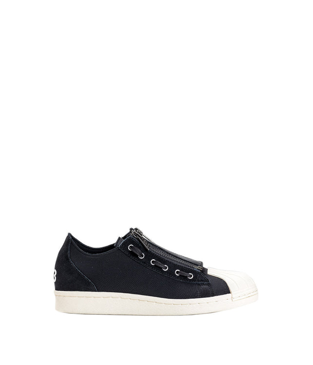 Black Super Zip Sneakers