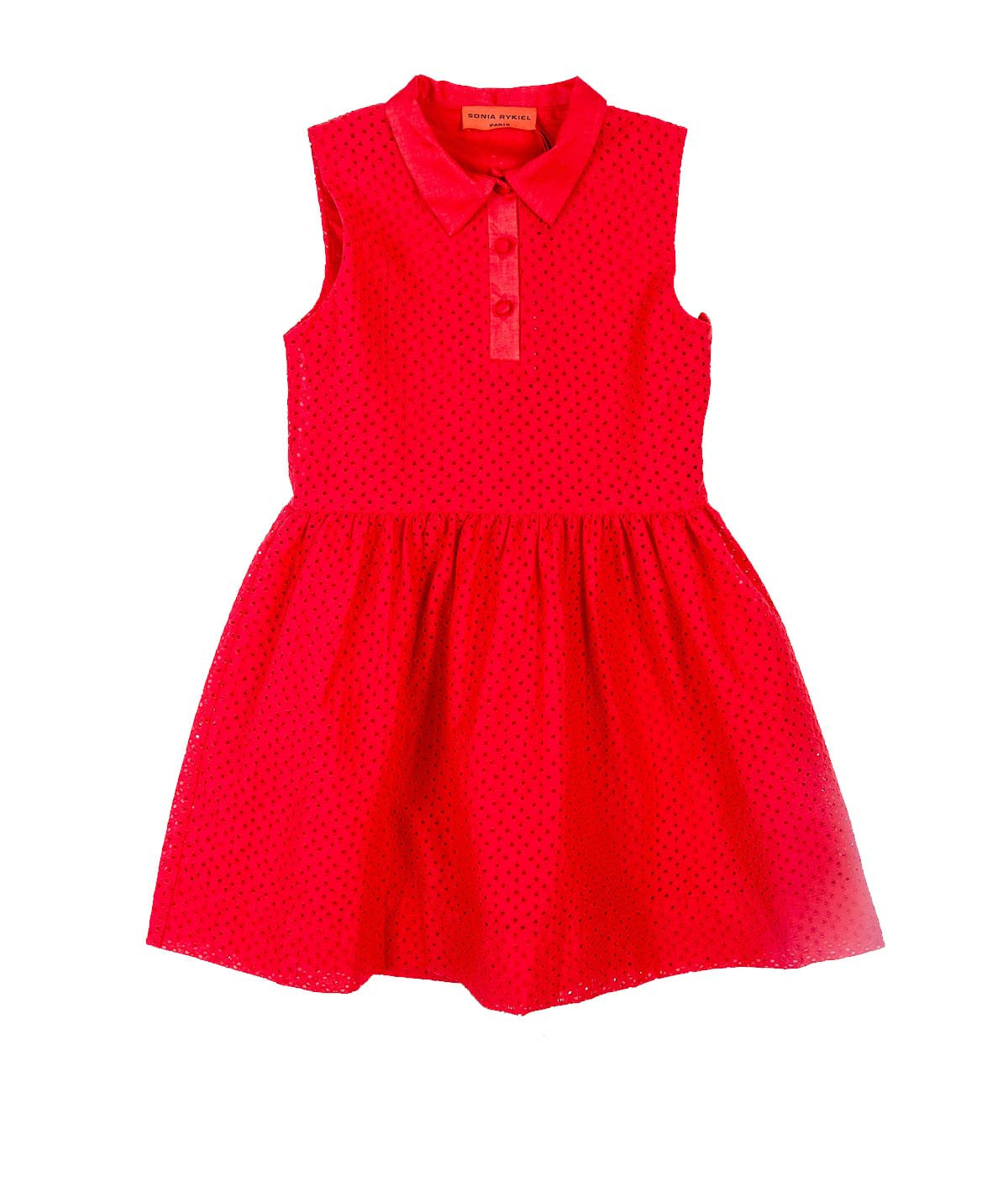 Kids Broderie Anglaise Dress