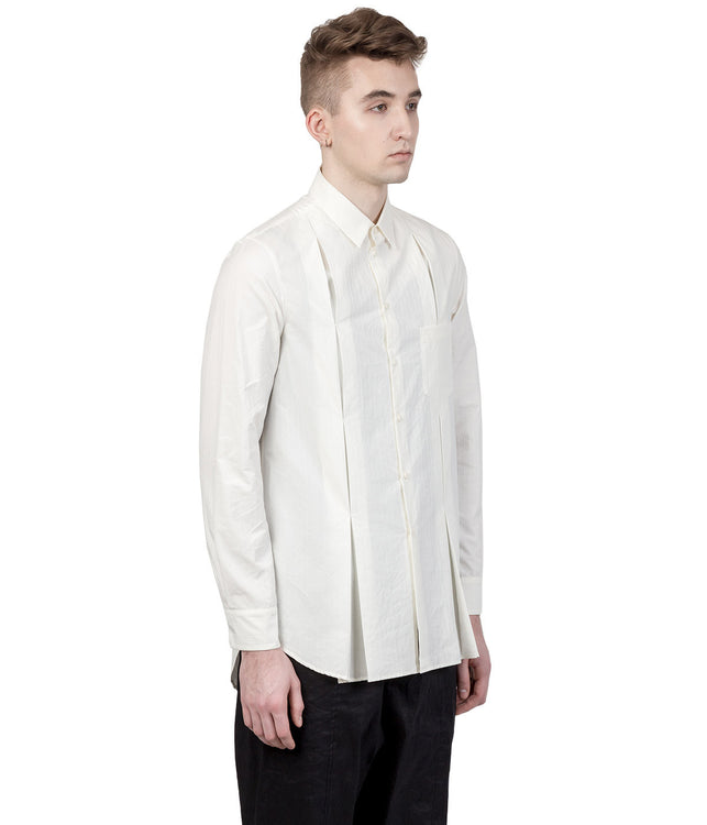 White Pleats Shirt