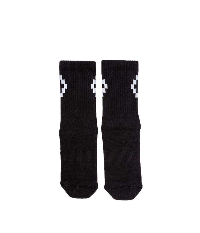 Black Cruz Short Socks