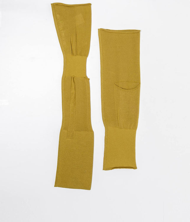 Yellow Grey Evening Sleeve & Holster