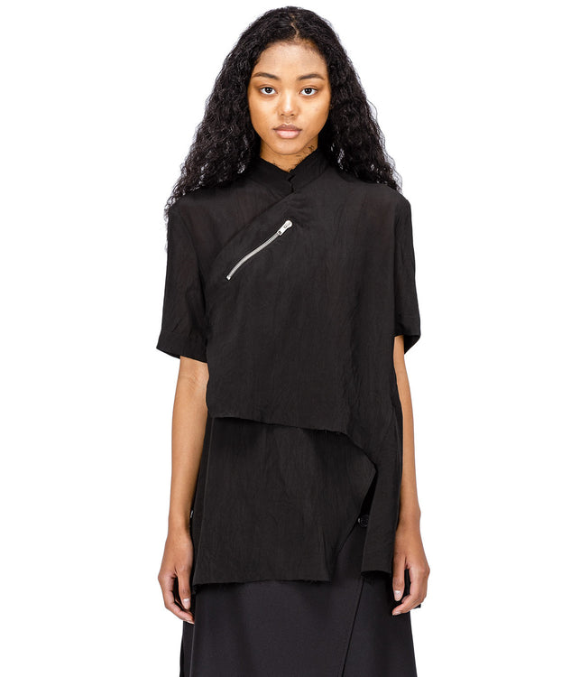 Black Qipao Shirt