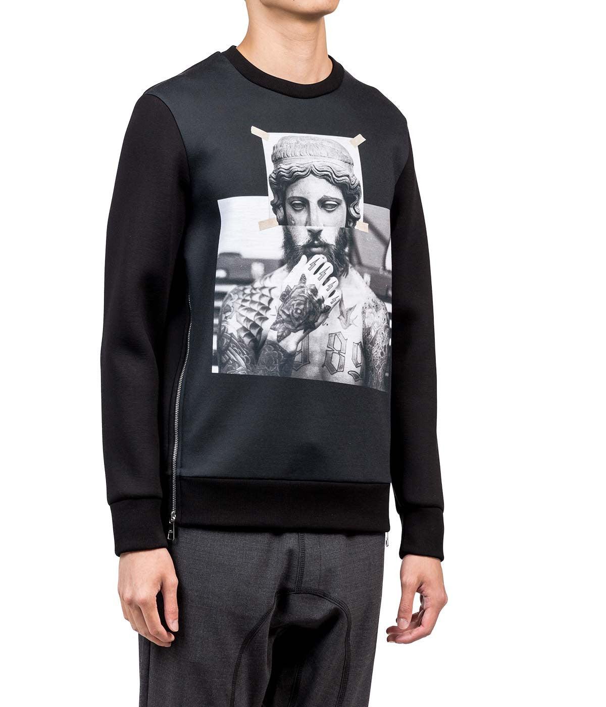 Black Statue Sweatshirt