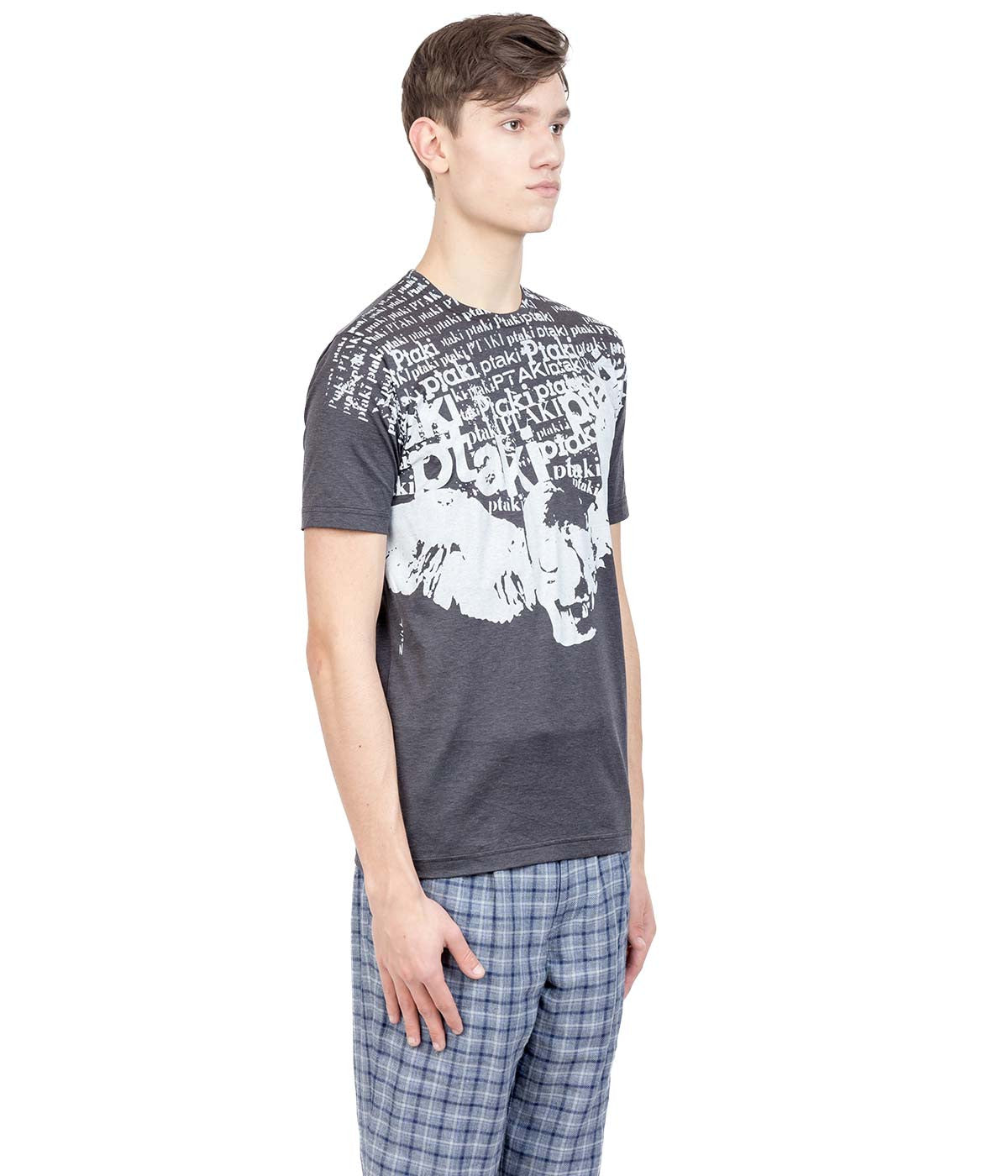 Charcoal Grey Graphic T-Shirt