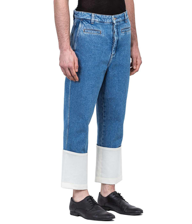 Blue Fisherman Denim Jeans