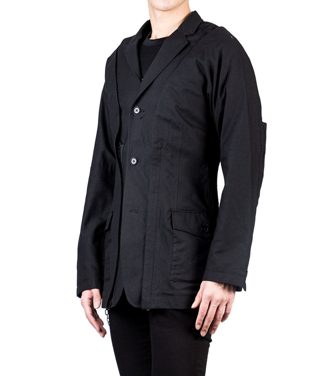 Panelled Cotton Jacket