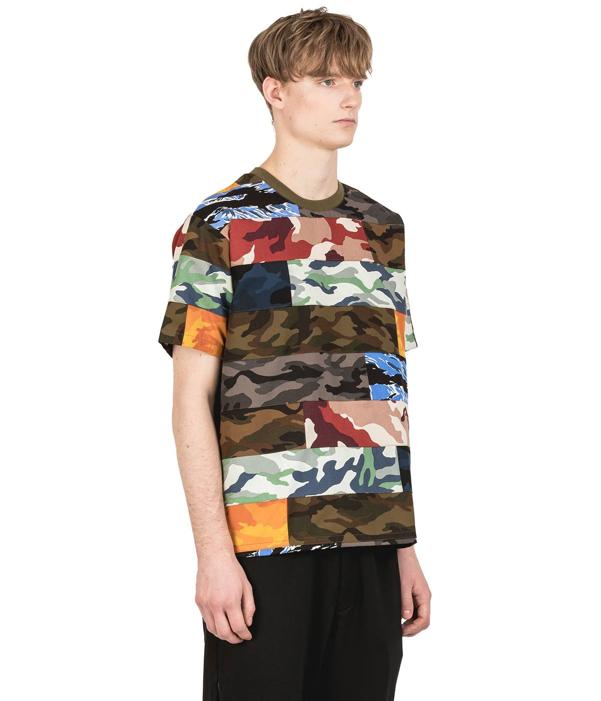 Military Camouflage Brick T-Shirt