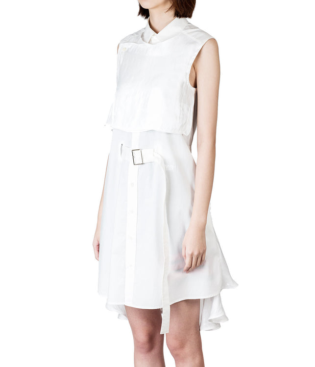 Panelled Shirt Dress