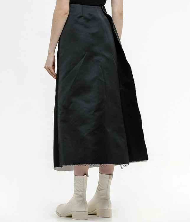 Black Fetish Printed Skirt