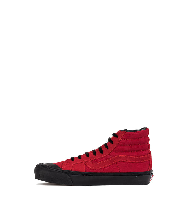 Red OG Style 138 LX High Top Sneakers