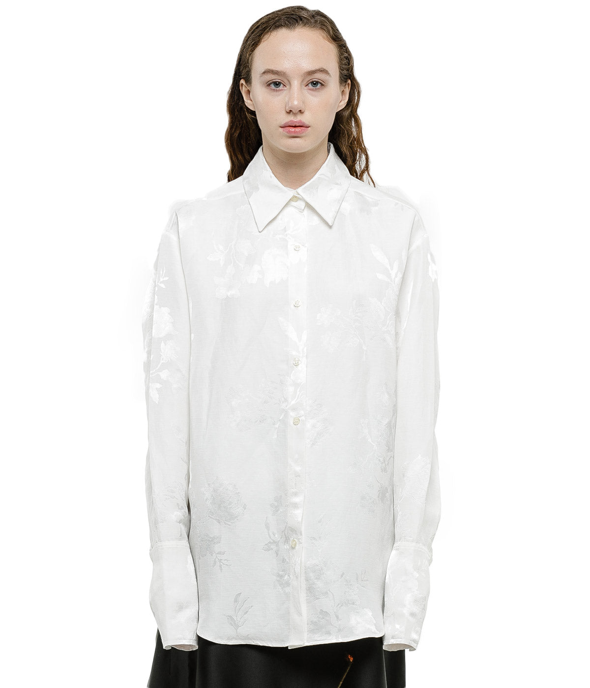 Off White Long Sleeve Shirt