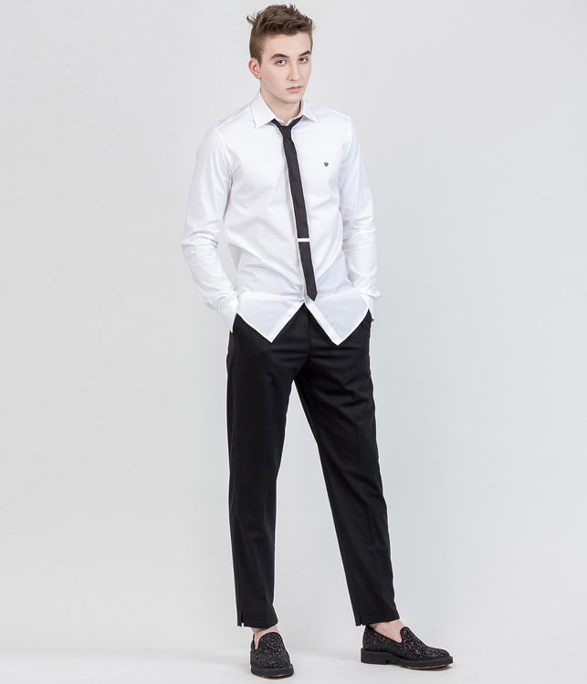 Black Slouch Fit Pants