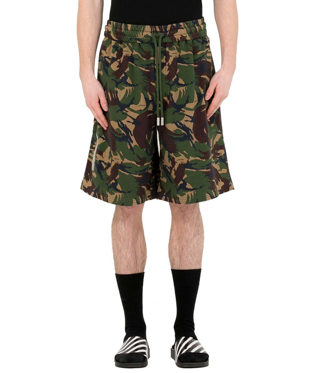 Camouflage Diag Shorts
