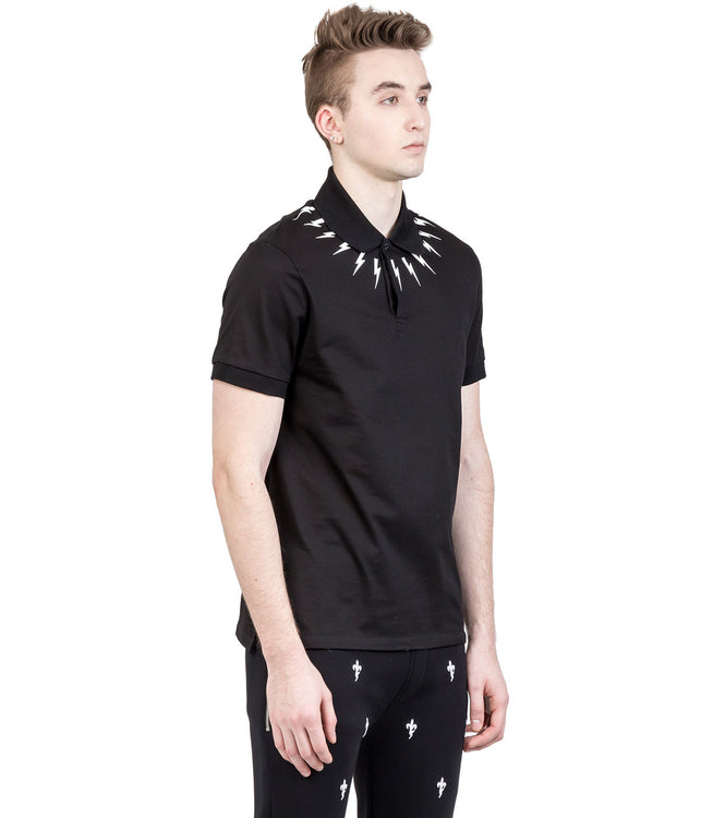 Black Thunder Polo Shirt