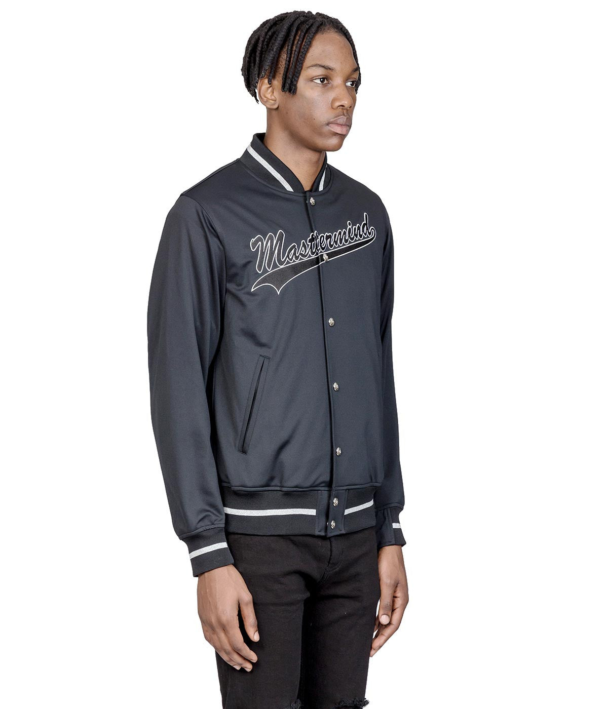 Black mastermind Feat. A-GIRL'S Varsity Jacket