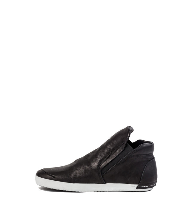 Black High-Top Slip On Shoes